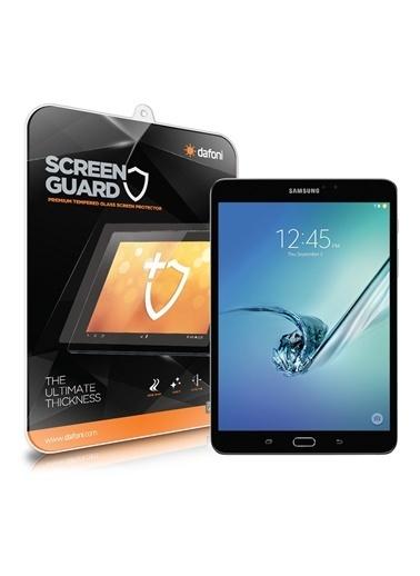 MobilCadde MobilCadde Dafoni Samsung Galaxy Tab S2 WiFi 8 Temperli Premium Tablet Cam Ekran Koruyucu Renkli